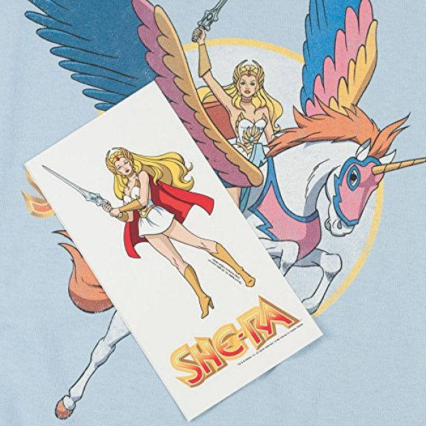 Popfunk Graphic Tshirt 5 She-Ra and Swiftwind Women's T Shirt & Stickers