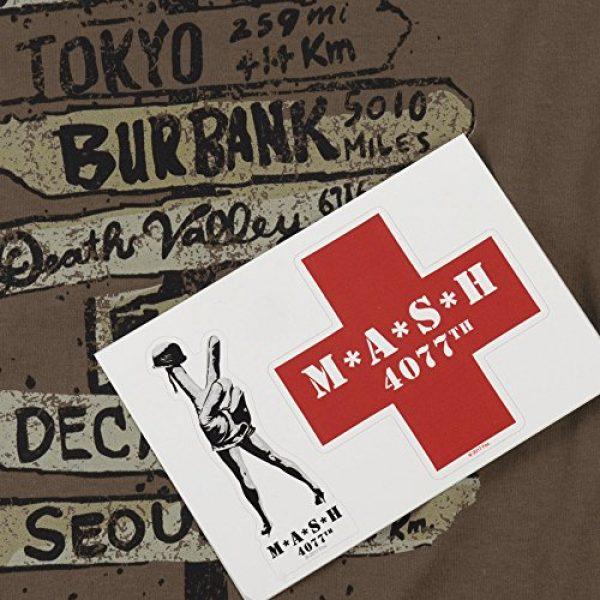 Popfunk Graphic Tshirt 6 MASH Fingerpost T Shirt & Stickers