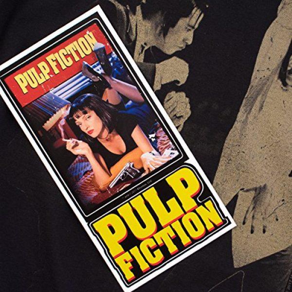 Popfunk Graphic Tshirt 6 Pulp Fiction Movie Uma Thurman John Travolta T Shirt & Stickers