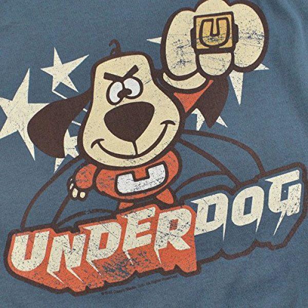 Popfunk Graphic Tshirt 5 Underdog Flying Logo Retro Cartoon T Shirt & Stickers