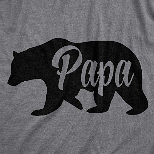 Crazy Dog T-Shirts Graphic Tshirt 2 Mens Papa Bear Funny Shirts for Dads Gift Idea Humor Novelty Tees Family T Shirt