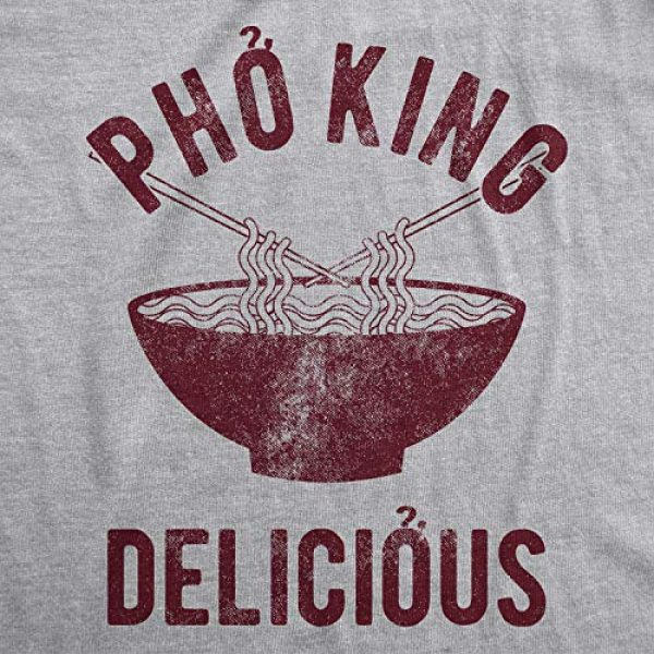 Crazy Dog T-Shirts Graphic Tshirt 2 Mens Pho King Delicious T Shirt Funny Sarcastic Saying Tee Adult Humor Nerdy