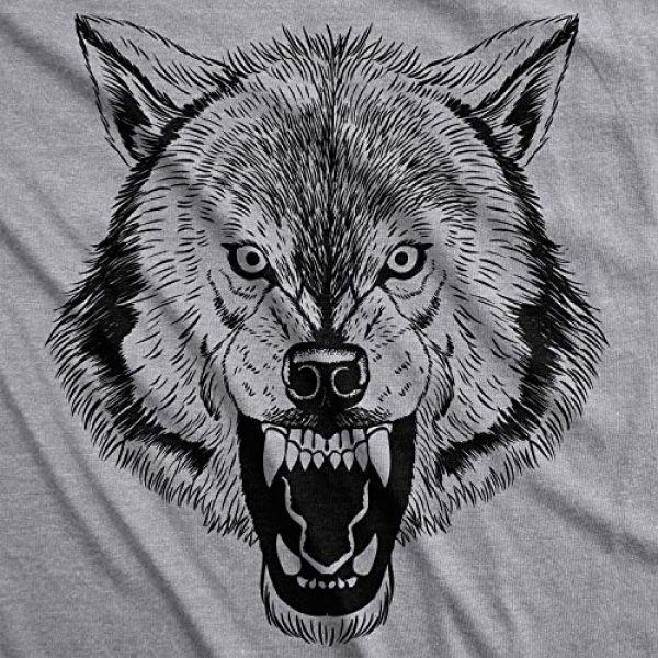Crazy Dog T-Shirts Graphic Tshirt 3 Ask Me About My Wolf Flip T Shirt Cool Design Funny Saying Novelty Graphic