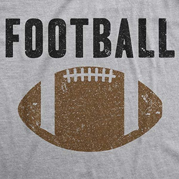 Crazy Dog T-Shirts Graphic Tshirt 2 Womens Vintage Football T Shirt Funny Sunday Game Day Tee for Ladies Graphci