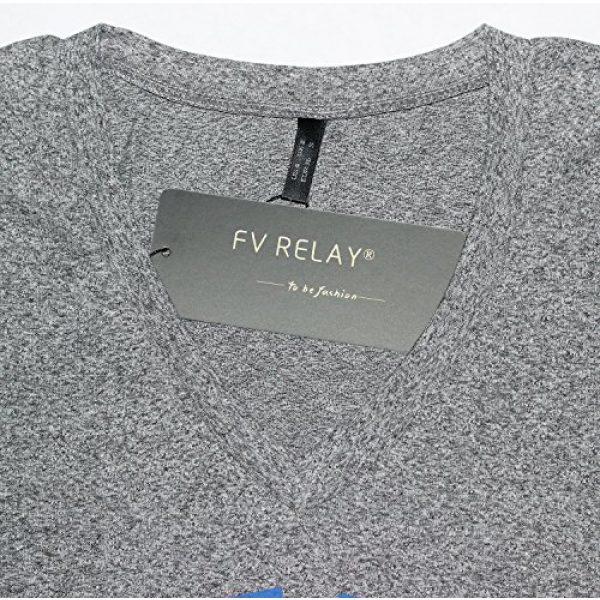 FV RELAY Graphic Tshirt 7 Women's Duke Printed Casual Tee Tops Short Sleeve V-Neck T Shirts for Teen Girls