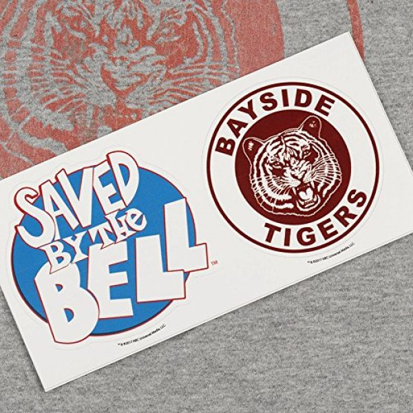 Popfunk Graphic Tshirt 5 Saved by The Bell Bayside Tigers Women's T Shirt & Stickers