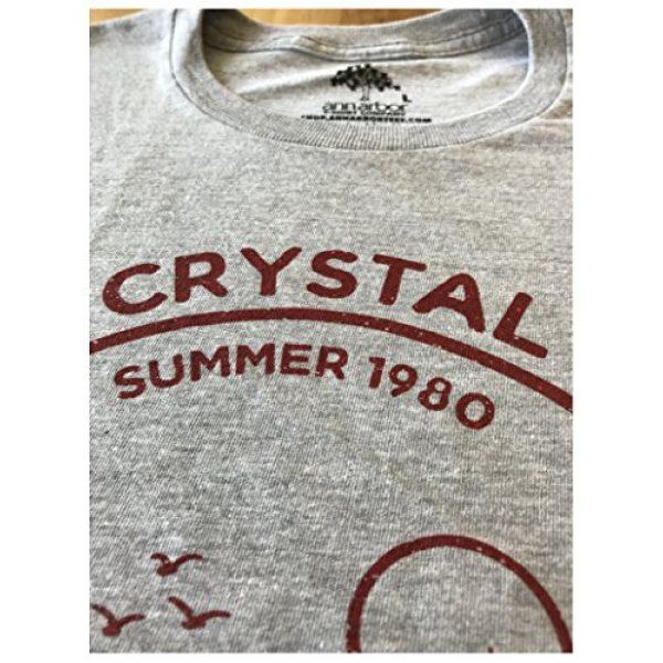 Ann Arbor T-shirt Co. Graphic Tshirt 5 1980 Camp Crystal Lake Counselor | Funny 80s Horror Movie Fan Humor Joke T-Shirt
