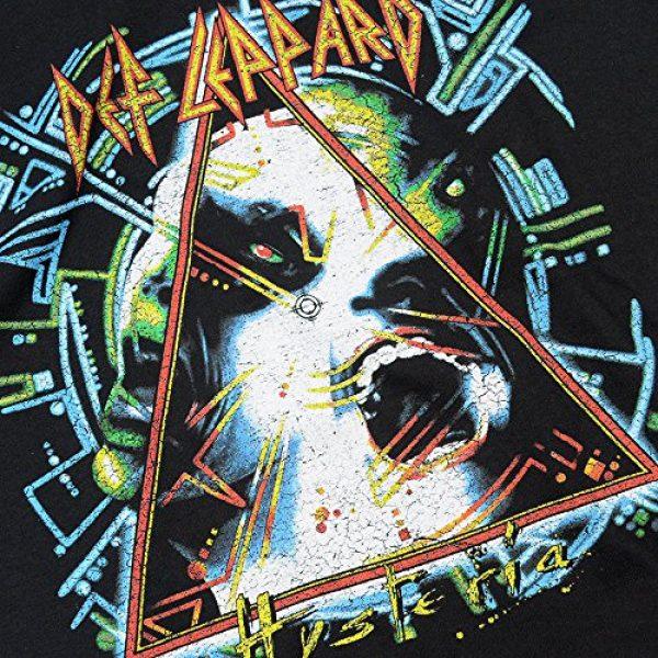 Popfunk Graphic Tshirt 5 Def Leppard Hysteria 80s Rock Album T Shirt & Stickers
