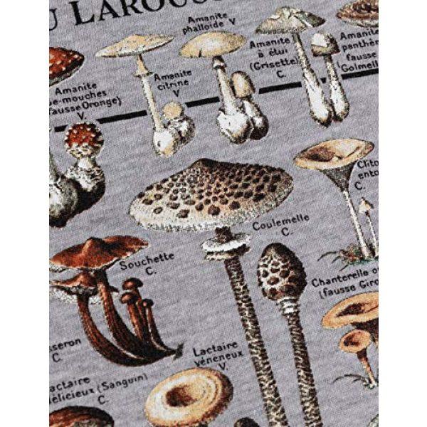 Ann Arbor T-shirt Co. Graphic Tshirt 5 Vintage Mushrooms Illustration   Morel Hunter Shroom Nature Art Men Women T-Shirt
