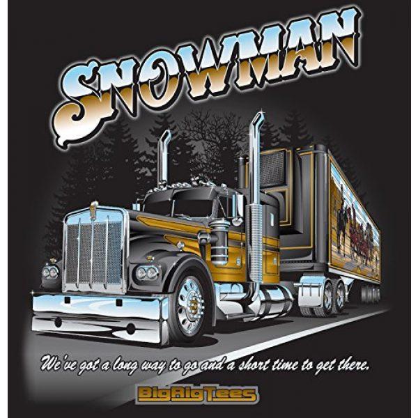 Bigrigtees Graphic Tshirt 3 Big Rig Tees 'Snowman' T-Shirt (XX-Large)