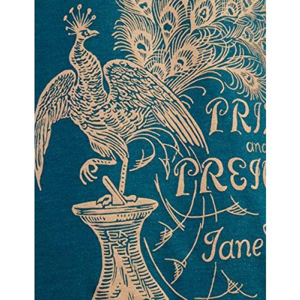 Ann Arbor T-shirt Co. Graphic Tshirt 5 Pride & Prejudice | Jane Austen 1813 Romance Book Club Reader Reading Women's V-Neck T-Shirt Top