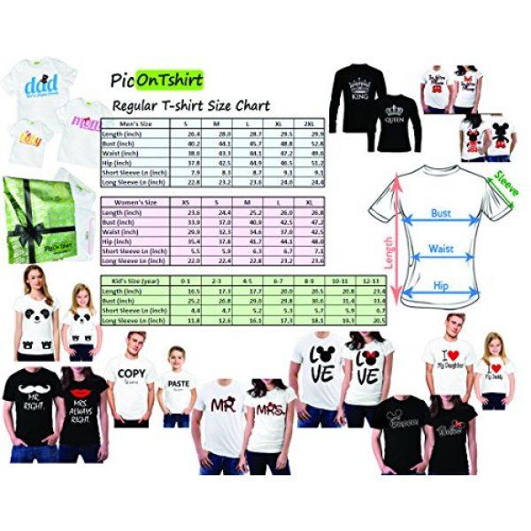picontshirt Graphic Tshirt 2 Love MM Black Couple T-Shirts