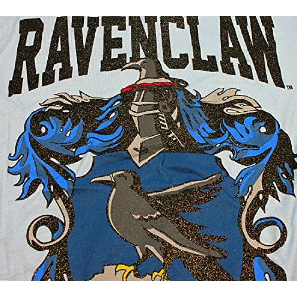 Harry Potter Graphic Tshirt 2 Ravenclaw House Juniors Glitter Blue T-shirt