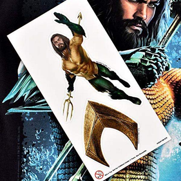 Popfunk Graphic Tshirt 6 Aquaman Movie Jason Mamoa Trident T Shirt & Stickers