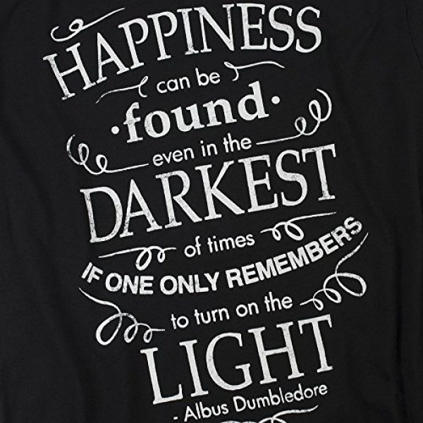 Popfunk Graphic Tshirt 5 Harry Potter Dumbledore Happiness Quote T Shirt & Stickers