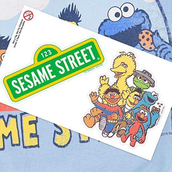 Popfunk Graphic Tshirt 6 Sesame Street Group T Shirt & Stickers