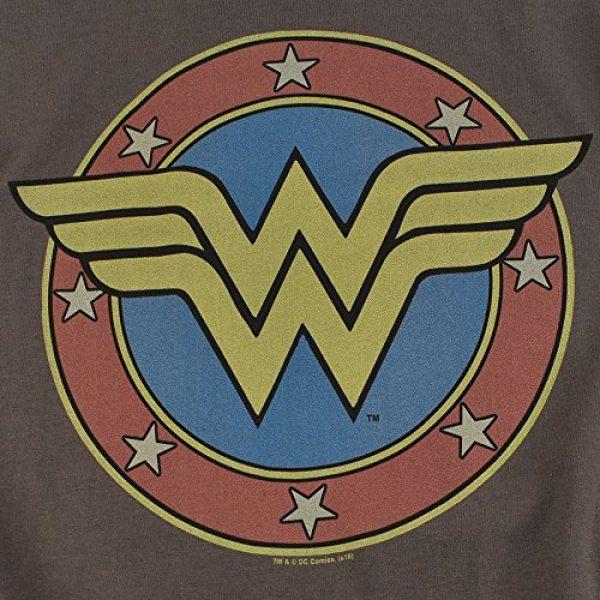 Popfunk Graphic Tshirt 5 Wonder Woman Vintage Logo DC Comics Longsleeve T Shirt & Stickers