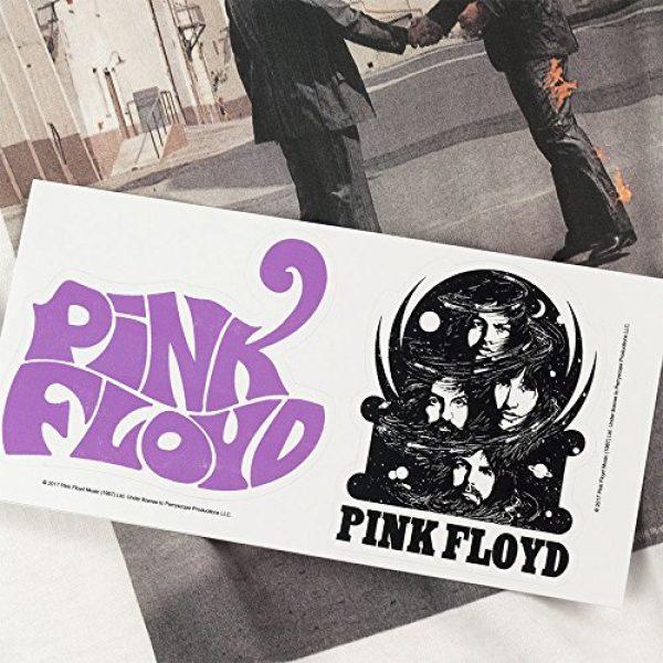 Popfunk Graphic Tshirt 6 Pink Floyd Wish You were Here Rock Album Longsleeve T Shirt & Stickers