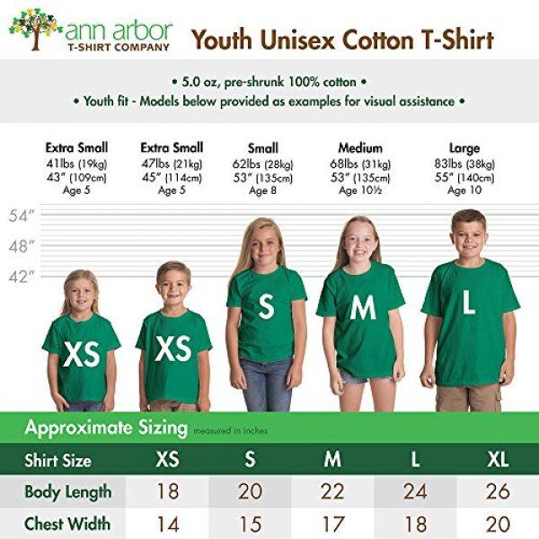 Ann Arbor T-shirt Co. Graphic Tshirt 4 Santa's Elf Costume | Jumbo Print Novelty Christmas Holiday Humor Youth T-Shirt