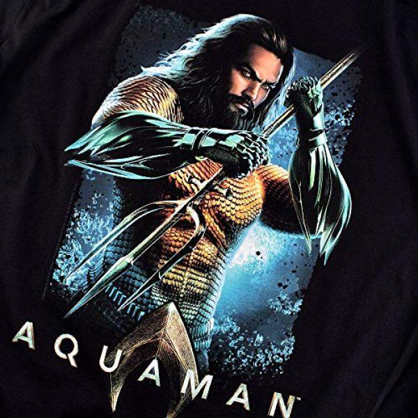 Popfunk Graphic Tshirt 5 Aquaman Movie Jason Mamoa Trident T Shirt & Stickers