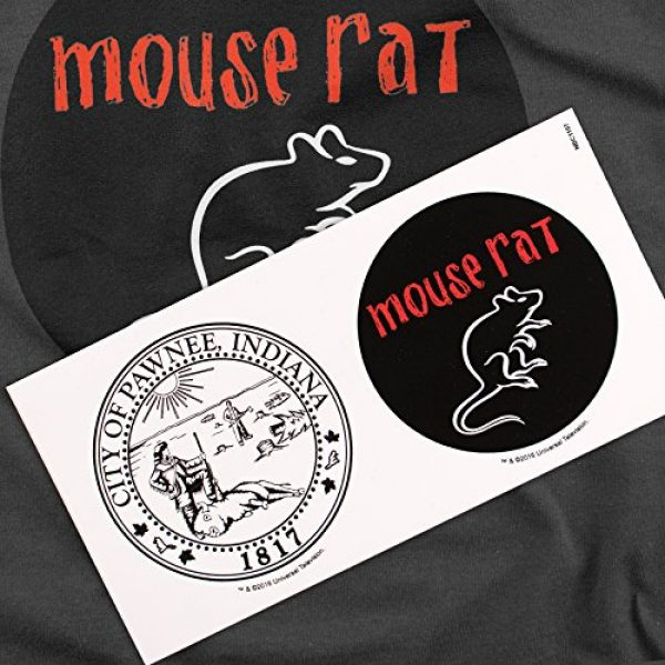 Popfunk Graphic Tshirt 6 Parks & Rec Mouse Rat Pawnee Band T Shirt & Stickers