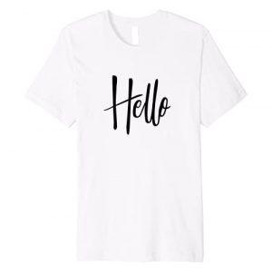 Summer Beach Vacation shirt Graphic Tshirt 1 Summer shirt that simply says Hello, pass a smile on, Cruise Premium T-Shirt