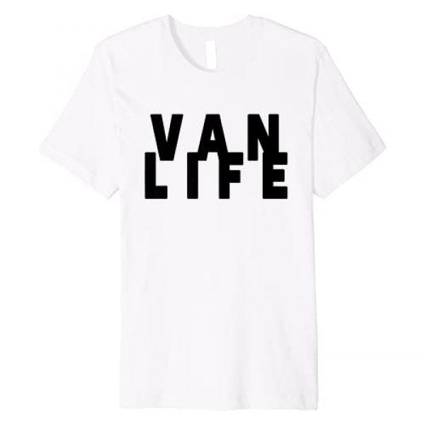 VAN LIFE CLOTHING & VAN LIFE APPAREL CO. Graphic Tshirt 1 Van Dweller Clothing & Van Life Apparel - Van Life Premium T-Shirt