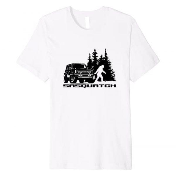 Ford Bronco Graphic Tshirt 1 Sasquatch Premium T-Shirt