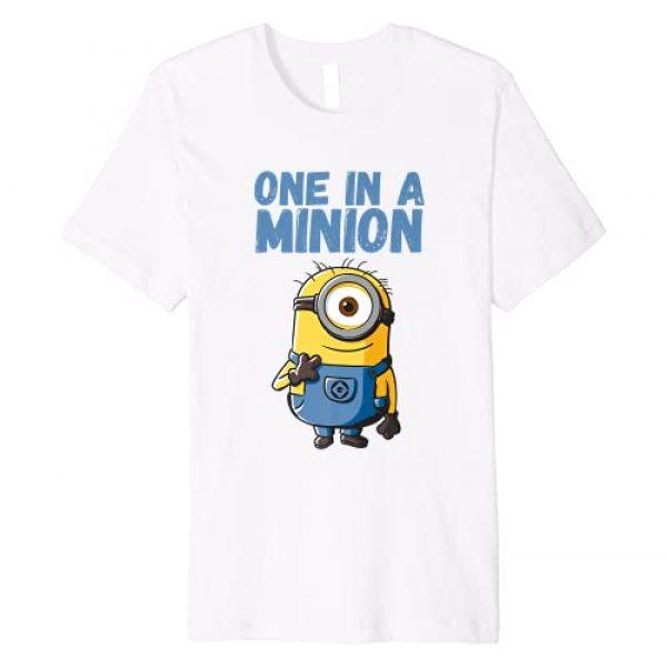 Despicable Me Graphic Tshirt 1 Minions Stuart One In A Minion Premium T-Shirt