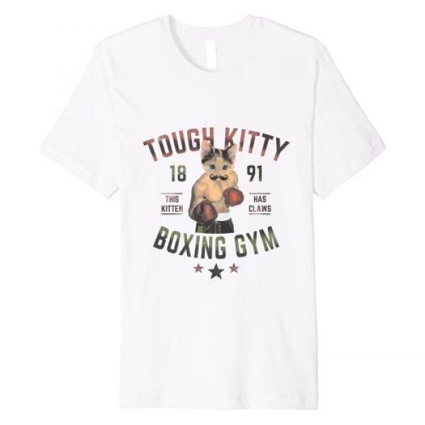 Mr. Cat Shirt Graphic Tshirt 1 Tough Kitty Boxing Cat T-Shirt