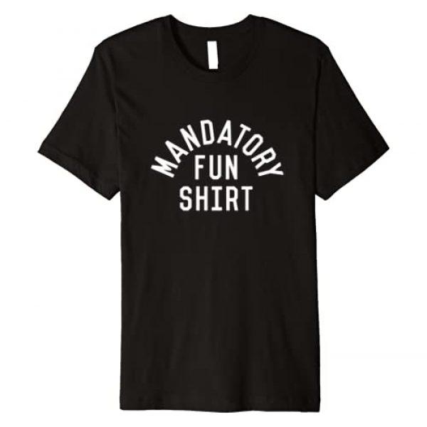 The Inkfidel Boneyard Graphic Tshirt 1 Inkfidel   Mandatory Fun Premium T-Shirt