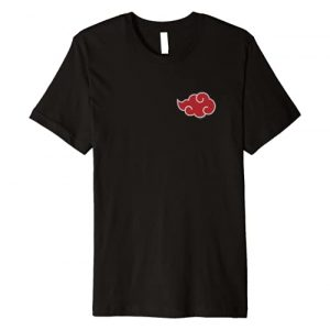 Naruto Graphic Tshirt 1 Shippuden Akatsuki Cloud Premium T-Shirt