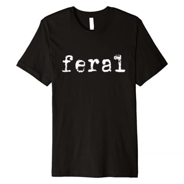 UDN Shop Graphic Tshirt 1 Feral Graphic Premium T-Shirt
