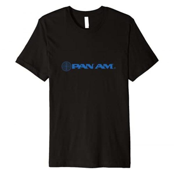 Trendy Retro Airline Shop Graphic Tshirt 1 Pan Am Airways Retro Logo Premium T-Shirt