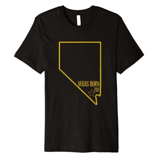 Area Code Tees 702 Graphic Tshirt 1 Vegas Born Tshirt