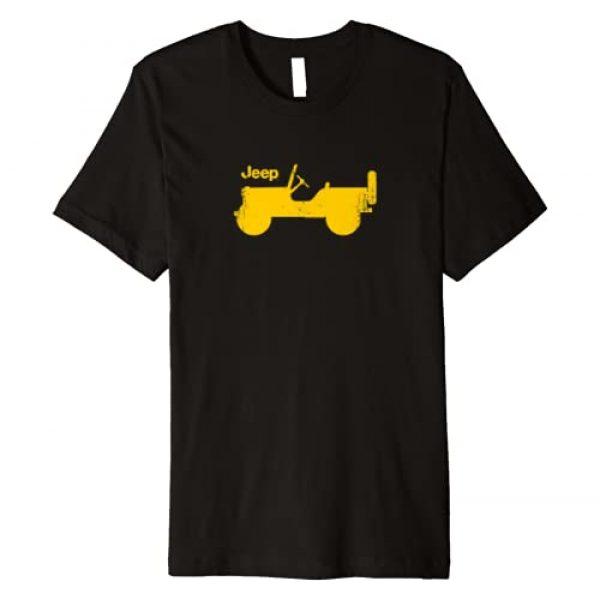 Jeep Graphic Tshirt 1 Willys Profile Premium T-Shirt