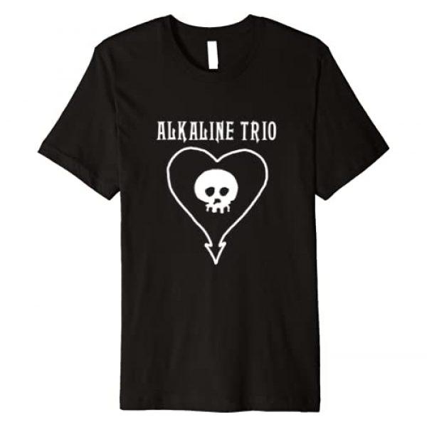 Alkaline Trio Graphic Tshirt 1 Classic Heartskull - Official Merch Premium T-Shirt