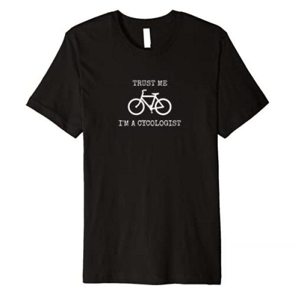 SamSam by Sam Graphic Tshirt 1 TRUST ME, I'M A CYCOLOGIST Premium T-Shirt