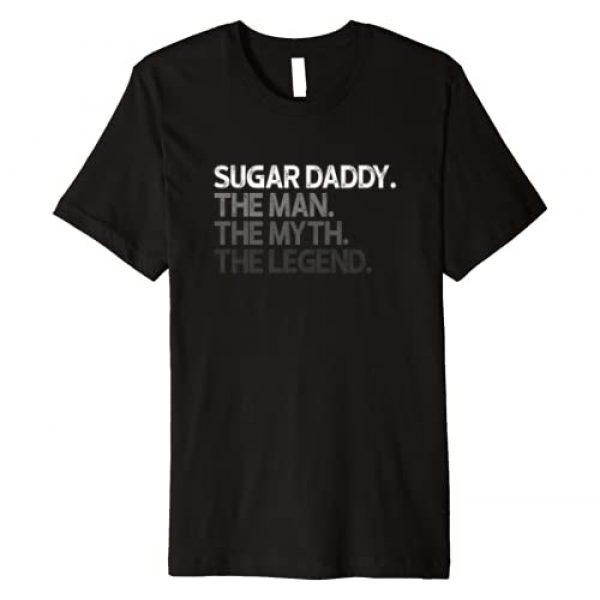 Sugar Daddy Gifts Graphic Tshirt 1 Sugar Daddy SugarDaddy The Man Myth Legend Gift Premium T-Shirt