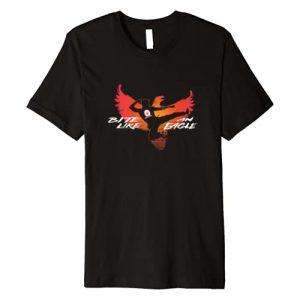 Cobra Kai Graphic Tshirt 1 Bite Like an Eagle Jump Kick Premium T-Shirt
