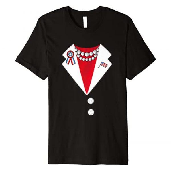 PresElect2020 Clothing Graphic Tshirt 1 Kamala Harris 2020 Pantsuit Costume Election Funny Halloween Premium T-Shirt
