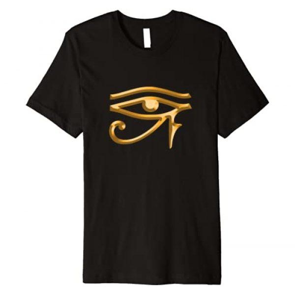 Egyptian Horus Ra Designs Graphic Tshirt 1 Eye Of Ra Horus Egyptian Premium T-Shirt