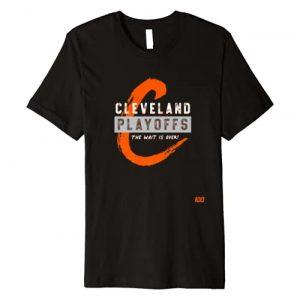 Dawg Pound Playoffs Graphic Tshirt 1 Cleveland Playoffs - The Wait is Over Premium T-Shirt
