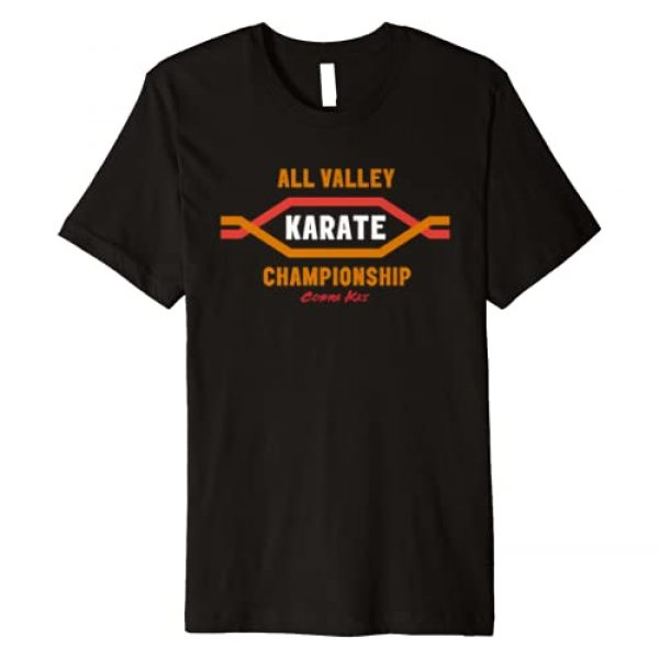 Cobra Kai Graphic Tshirt 1 All Valley Karate Championship Premium T-Shirt