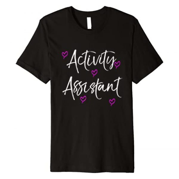 Activity Director Appreciation Apparel Graphic Tshirt 1 Activity Assistant Valentines Day Gift Premium T-Shirt