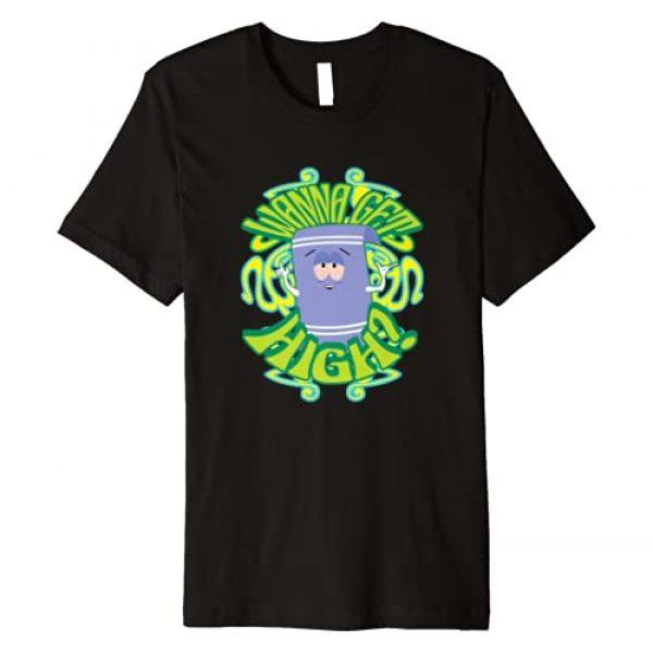 South Park Graphic Tshirt 1 Wanna Get High Premium T-Shirt