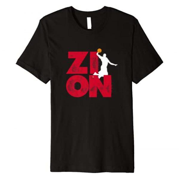 Zion Pelicans Basketball Tees Graphic Tshirt 1 Zion Pelicans Basketball Premium T-Shirt