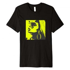 Mary J Blige Graphic Tshirt 1 Official Mary J Blige Neon Profile Photo Premium T-Shirt