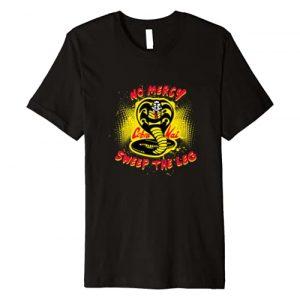 Cobra Kai Graphic Tshirt 1 No Mercy Sweep the Leg Premium T-Shirt
