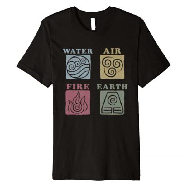 Avatar: The Last Airbender Graphic Tshirt 1 Elements Box Up Premium T-Shirt